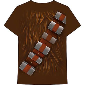 Star Wars - Chewbacca Chest Men's Large T-Shirt - Brown