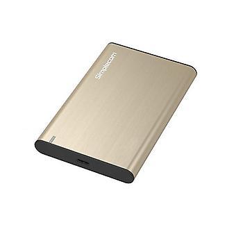 Simplecom Se221 Aluminium Sata Hdd Ssd To Usb Enclosure