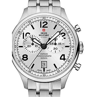 Reloj masculino militar suizo por Chrono SM30192.02, cuarzo, 42 mm, 10ATM