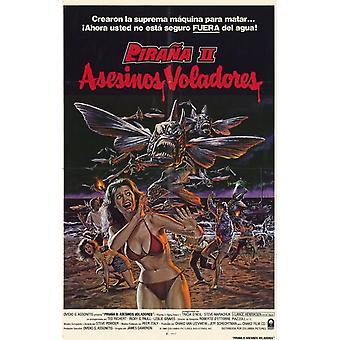 Piranha 2 the Spawning Movie Poster (11 x 17)