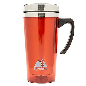 New Eurohike Tall Insulated Travel Camping Mug Red