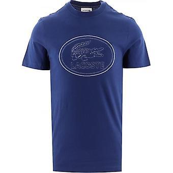Lacoste Navy Logo T-paita