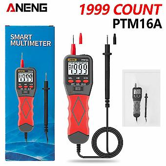 Aneng ptm16a digital pen meter multimeter with box 1999 counts display  ac/dc voltage current resistance auto range diode tester