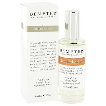 Demeter Suntan Lotion Cologne Spray By Demeter 4 oz Cologne Spray