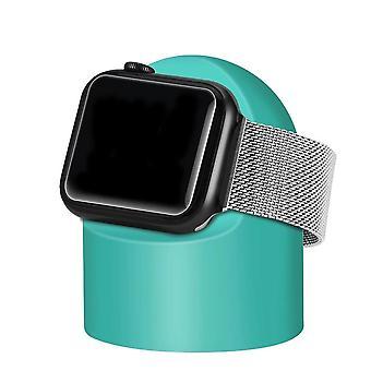 Apple Watchin yötuen ja pc:n kotilataustelakan pyöreän silikonin pidike