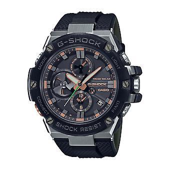 Relógio Masculino Casio Gst-b100ga-1aer - Pulseira seno R preta