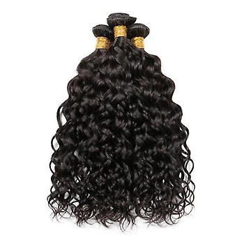 9a Grade brasilianske Human Hair Extension 1/3/4 Vand Wave Bundter med