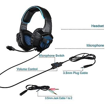 SADES 807 Multi-Platform Gaming Headset for Playstation 4 New Xbox One PS4 PC Computer Games