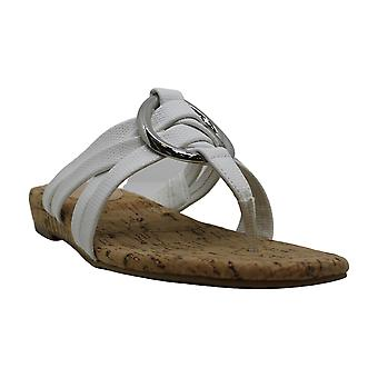 Alfani mujer carrle tela abierto dedo del pie casual sandalias deslizantes