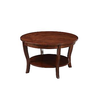 American Heritage Round Coffee Table - R6-362
