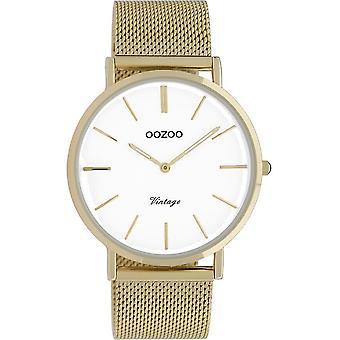 Oozoo - Women's Watch - C9909 - Gold White