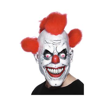 Smiffys Scary Clown Mask Fancy Dress Costume Accessory