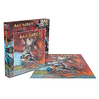 Iron Maiden Jigsaw Puzzle Virtual XI Album Cover new Official Red 500 Piece