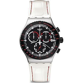 スウォッチ代官山クロノグラフ メンズ腕時計 YVS407