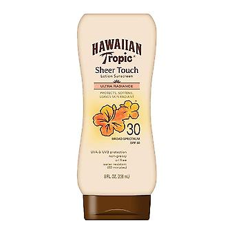 Hawaiian tropic ren touch lotion solskyddsmedel, spf 30, 8 oz