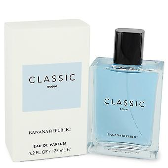 Banana Republic Classic Acqua by Banana Republic Eau De Parfum Spray (Unisex) 4.2 oz