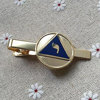 14Th degree yod lodge of perfection scottish rite masonic tie clip