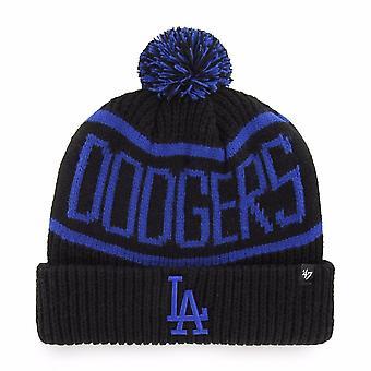 47 Marke Mlb Los Angeles Dodgers schwarz Calgary Manschette Mütze stricken