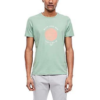 s.Oliver SVART ETIKETT T-Shirt, 7226 Green Light Mint, XXL Män