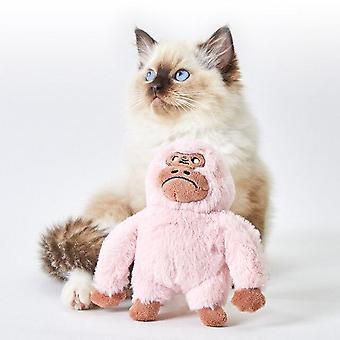Pet Toys Cat Toy Cat Fornece Cat Toy Self Hi Catnip Funny Cat Bite resistente| Brinquedos de Gato (orangotango)