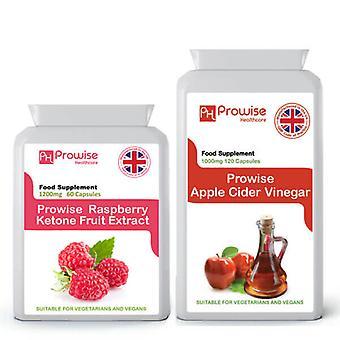 Raspberry Super Strength  + Apple CIder Vinegar | Suitable For Vegetarians & Vegans | Made In UK by Prowise