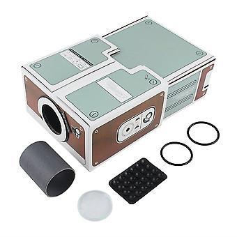 Projecteur de divertissement home cinéma maison numérique de téléphone intelligent de deuxième génération