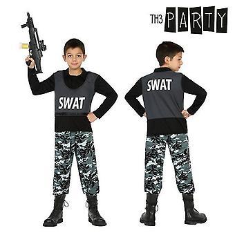 زي للأطفال سوات ضابط شرطة (2 أجهزة الكمبيوتر الشخصية)
