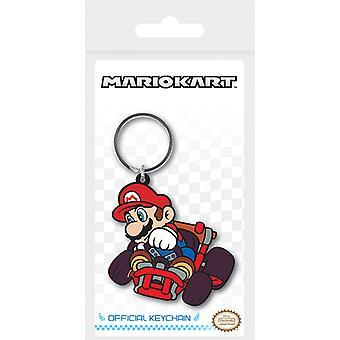 Mario Kart - Mario Drift Keychain