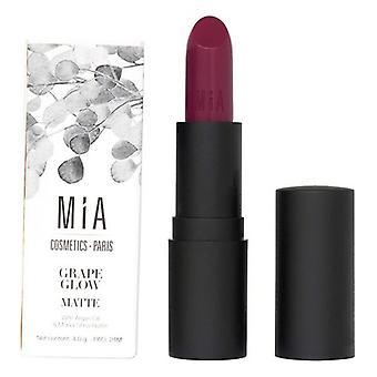 Lápiz labial Mia Cosmetics Paris Matt 506-Grape Glow (4 g)