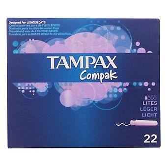 Light Tampon Compak Tampax (22 uds)