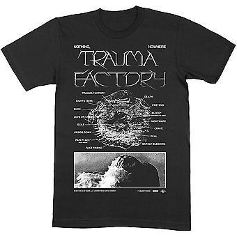 Nothing,Nowhere - Trauma Factor V.2 Unisex Large T-Shirt - Black