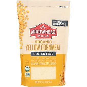 Arrowhead Mills Cornmeal Yellow Org, Caso de 6 X 22 Oz
