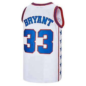 Men's Mcdonald's All American #33 Bryant Basketball Jersey Stitched S-2xl