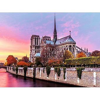 Ravensburger Picturesque Notre Dame Jigsaw Puzzle (1500 Pieces)