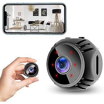 Mini Spy Kamera 1080P HD WiFi Wireless Versteckte Kamera mit Bewegungserkennung Nachtsicht und Geheimnis