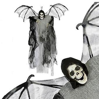 Skeleton pendant (60 x 50 cm) Grey Wings