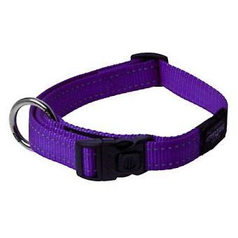Rogz Collar Reflectante Regulable Utility Morado