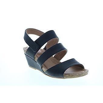 Me Too Adult Womens Tora 3 Strap Back Strap Wedge Wedges Heels