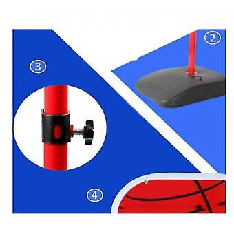 Children's Basketball Stand Is Easy To Assemble The Basketball Stand Can Lift Basket