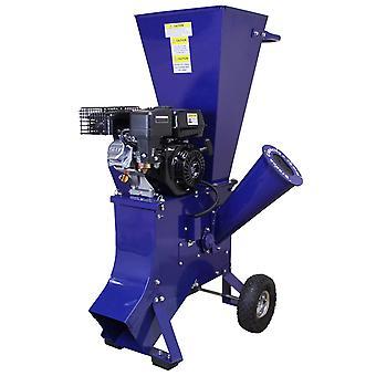 T-Mech - Trituradora de Ramas 6,5CV Gasolina para Destrucción de Ramas, Ramitas y Hojas para Jardineros Profesionales, Paisajistas y Aficionados