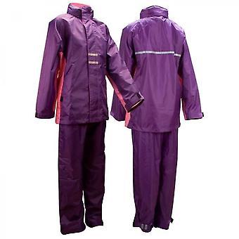 Lila Regenanzug für Mädchen