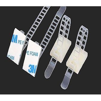 10pcs/cl-3 Adjustable Cable Clamps Wire Cable Tie-mounts