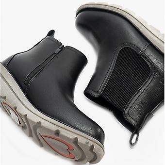 Heavenly Feet Rolo4 Ladies Chelsea Boots Black