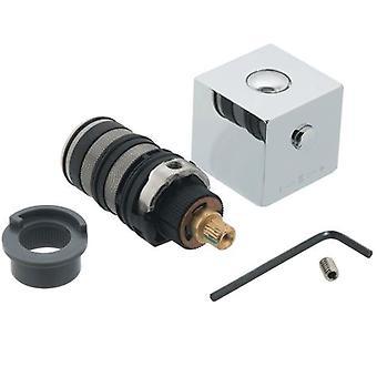Vado TE-RETROFIT/E1 Ombouwset met inbegrip van Cartridge, handvat en Thermostop voor TE-149T kleppen
