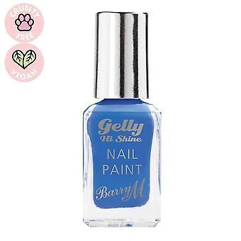 Barry M # Barry M Gelly Hi Shine Nail Paint - Damson #DISCON