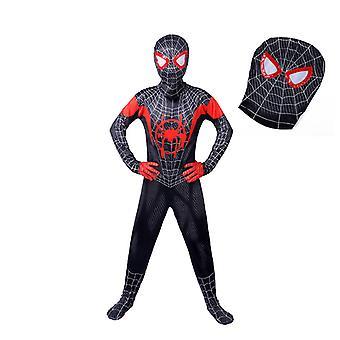 Villain Spiderman Jumpsuit With Headgear Children's Halloween Anime Cosplay Costume
