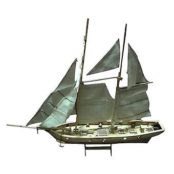 クールメイ3dジグソーパズルアセンブリ1:100木製ヨット構築おもちゃクリスマスバースデーギフト