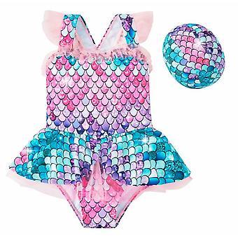 3d vytlačené dievčatá jednodielne plavky