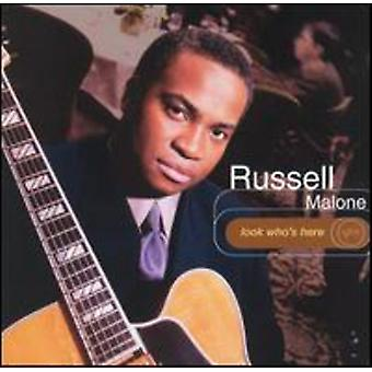 Russell Malone - Look Who's Here [CD] USA import