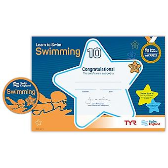 ASA Swim England Learn To Swim Award - Stage 10